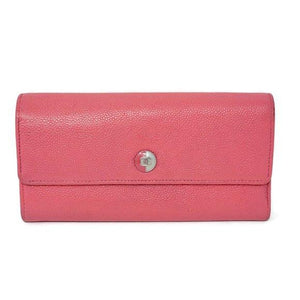 Chanel Caviar Bifold Pink Wallet - Luxury Cheaper