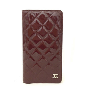CHANEL CC Logo Enamel Patent Leather Agenda Case - Luxury Cheaper