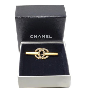 CHANEL CC LOGO IMITATION PEARL BROOCH w/BOX - Luxury Cheaper