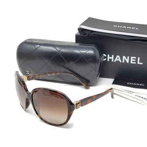 Chanel Tortoiseshell Browns Sunglasses.