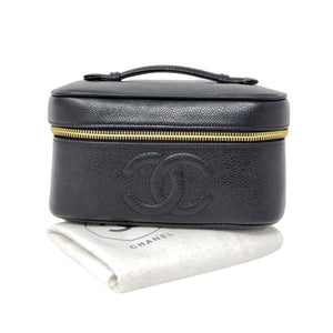 Chanel Vanity Caviar Cosmetic Bag - Luxury Cheaper