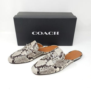Coach Flat Shoes Snakeskin.