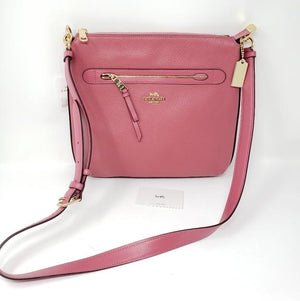 Coach Leather Crossbody Bag.