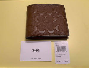 Coach Men's Wallet.