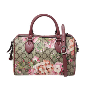 Gucci Bloom Pink Boston Shoulder Bag - Luxury Cheaper