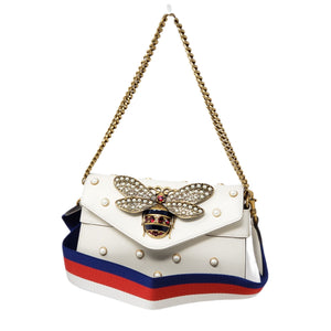 Gucci Broadway Pearl Clutch and Shoulder Bag.