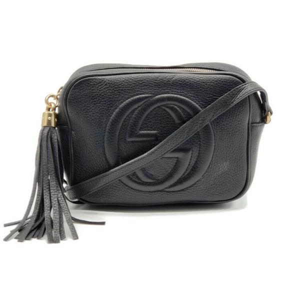 Gucci Disco Soho Camera Black Crossbody Bag - Luxury Cheaper