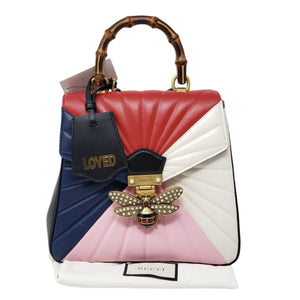Gucci Queen Margaret Bamboo Backpack & Handbag.