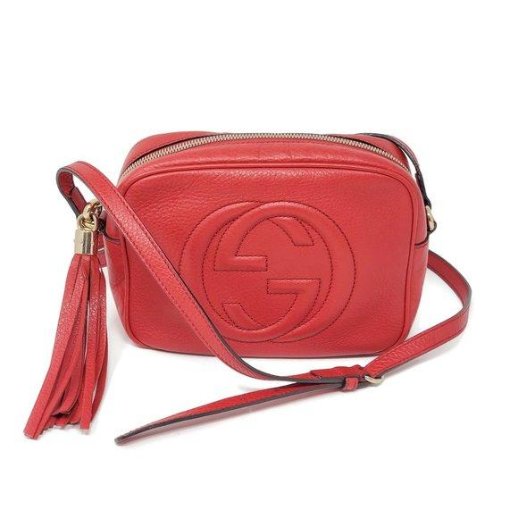 Gucci Small Soho Disco Camera Crossbody Bag.