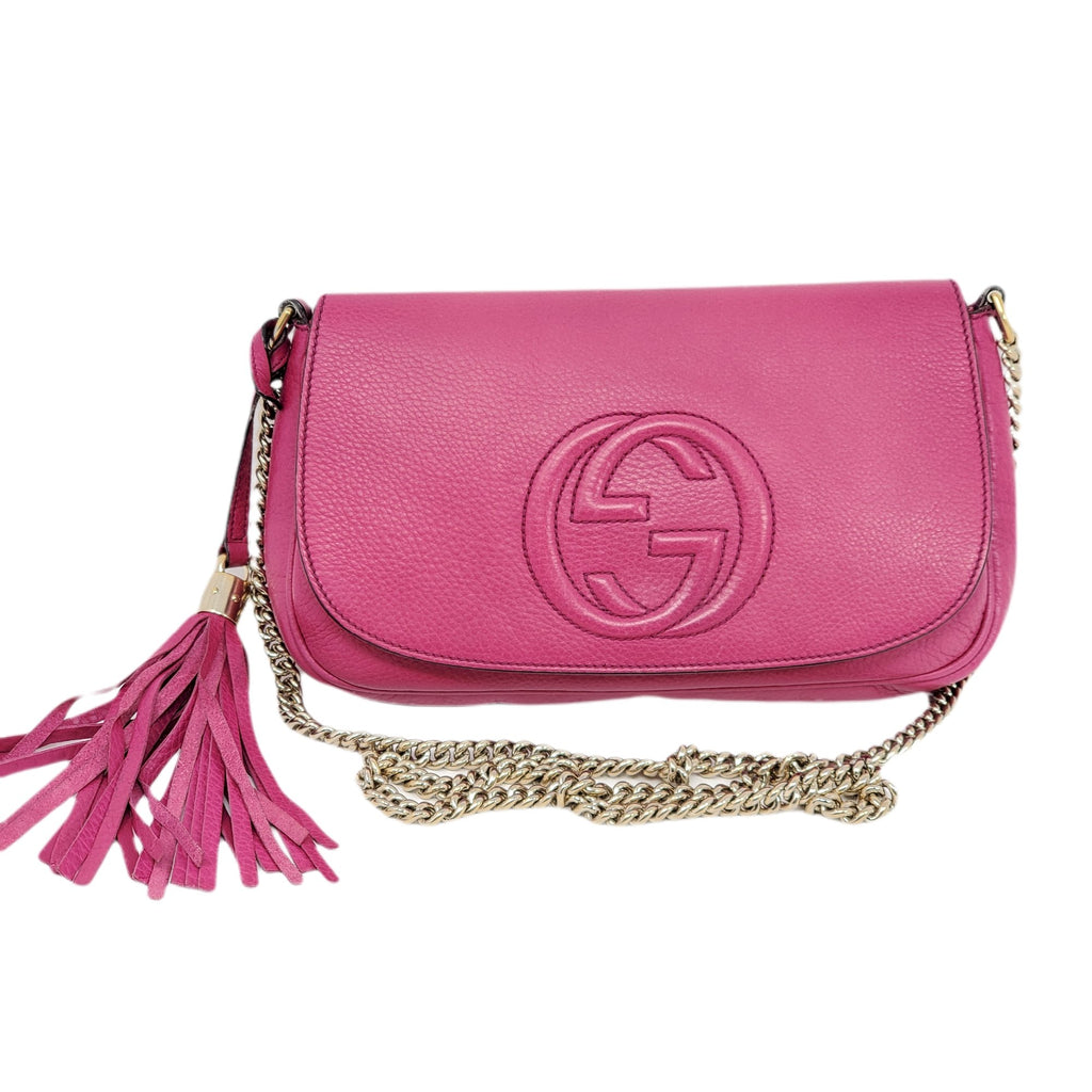 Gucci Soho on Chain Crossbody Bag.