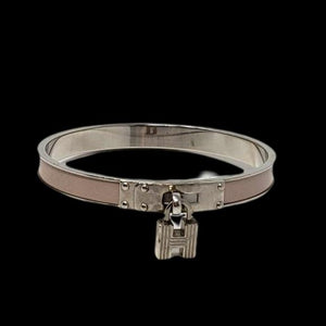 Hermes H Metal Bangle.