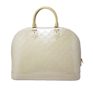 Louis Vuitton Alma GM Vernis Hand Bag.