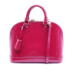 Louis Vuitton Alma Monogram PM Vernis - Luxury Cheaper
