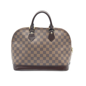 Louis Vuitton Alma PM Damier Ebene Hand Bag - Luxury Cheaper