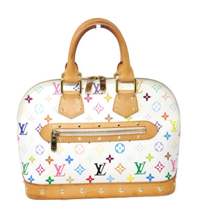 Louis Vuitton Alma PM Monogram Multicolor Hand Bag.