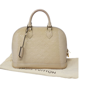 Louis Vuitton Alma PM Vernis Hand Bag.