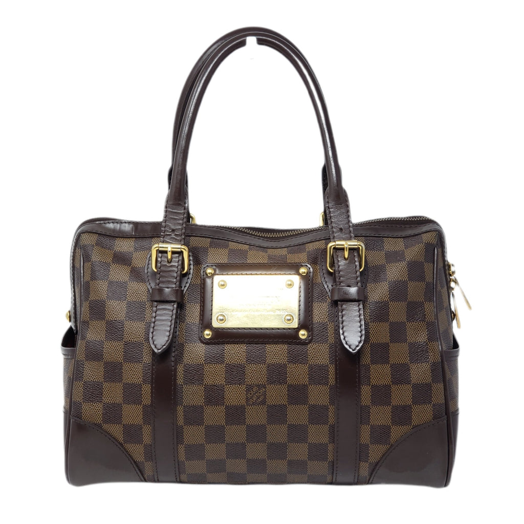 Louis Vuitton Berkeley Damier Ebene Boston Bag - Luxury Cheaper