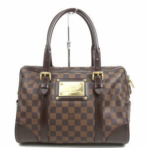 Louis Vuitton Berkeley Damier Ebene Hand Bag.