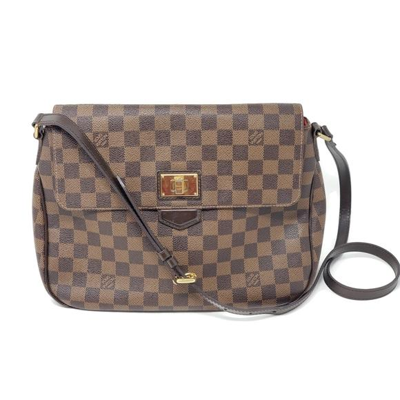 Louis Vuitton Besace Rosebery Ébene Crossbody Bag.