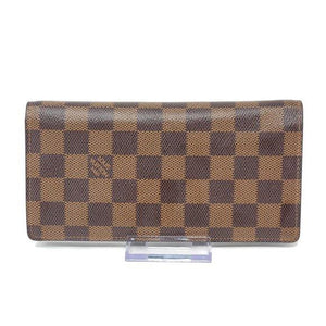 Louis Vuitton Brazza Damier Ebene Long Wallet - Luxury Cheaper