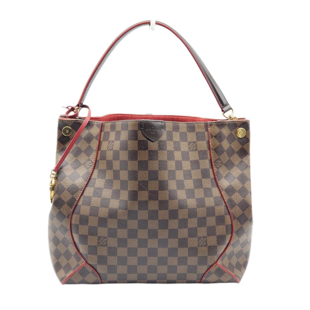 Louis Vuitton Caissa Damier EbeneHobo Shoulder Bag - Luxury Cheaper