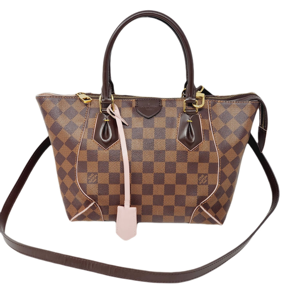 Louis Vuitton Caissa PM DamierEbene Rose Ballerine.