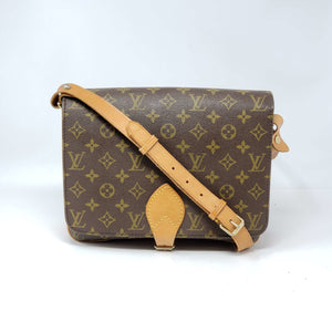 Louis Vuitton Cartouchiere MM Crossbody Bag.