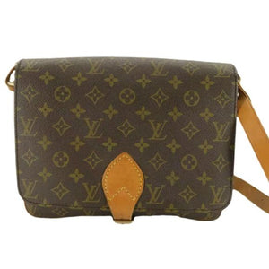 LOUIS VUITTON CARTOUSHIERE GM CROSSBODY.