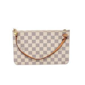 Louis Vuitton Clutch/Wristlet Damier Azur Bag.
