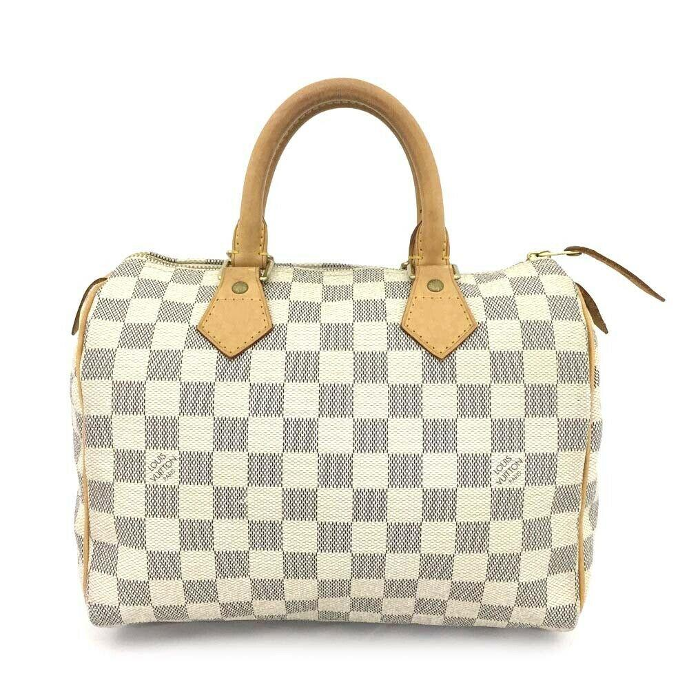 Louis Vuitton Damier Azur Speedy 25 Hand Bag - Luxury Cheaper
