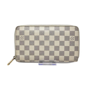 Louis Vuitton Damier Azur  Zippy Zippy Wallet.