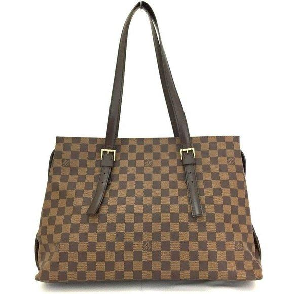 Louis Vuitton Damier Chelsea Tote Bag.