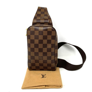 Louis Vuitton Damier Ebene Jeronimos Waist Body Bag - Luxury Cheaper