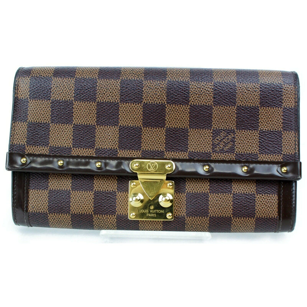 Louis Vuitton Damier Ebene Venice Wallet/Clutch.
