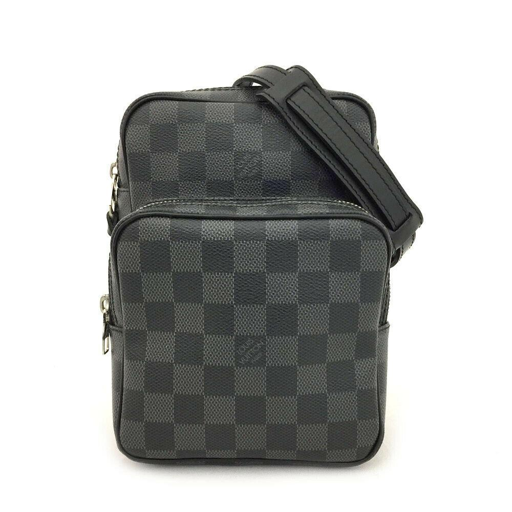 Louis Vuitton Damier Graphite Amazone Crossbody.