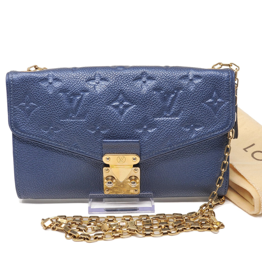 Louis Vuitton Empreinte Wallet on Chain Bag.