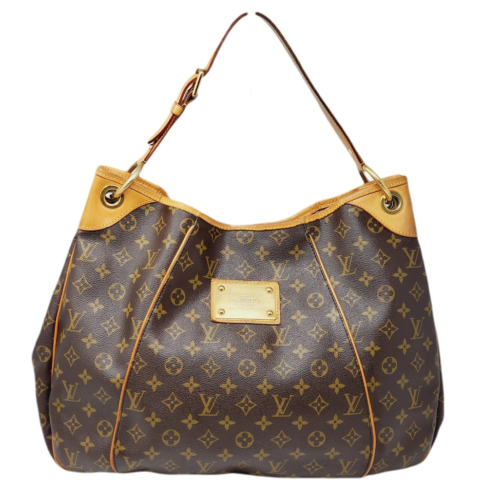 Louis Vuitton Galleria GM Monogram Hobo Bag.