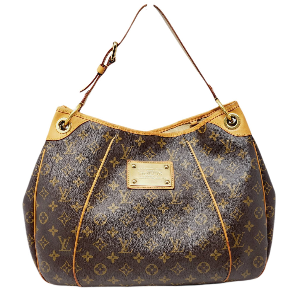 Louis Vuitton Galleria PM Monogram Hobo Bag.
