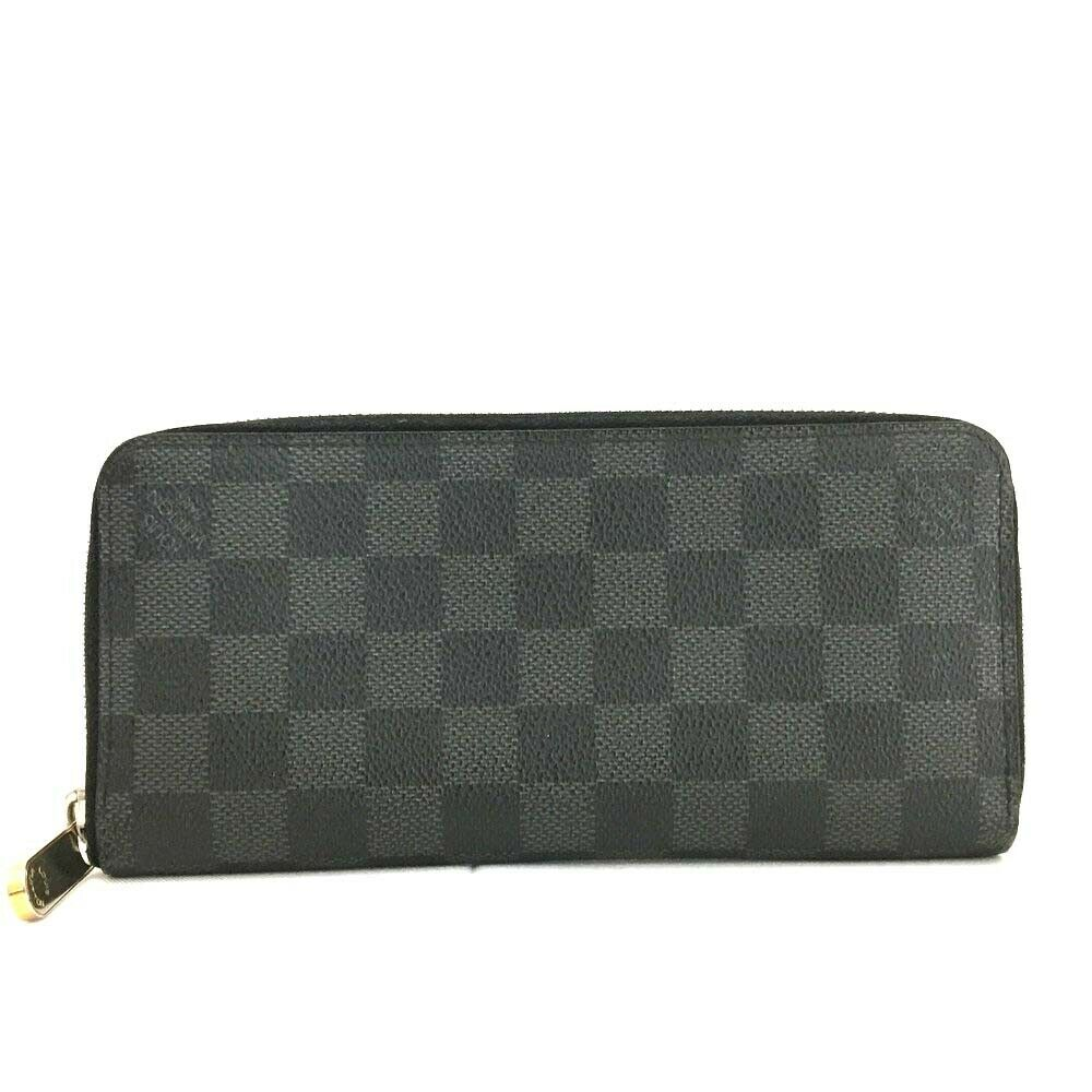 Louis Vuitton Graphite Vertical Zippy Wallet - Luxury Cheaper