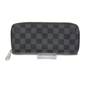 Louis Vuitton Graphite Zippy Vertical Wallet.