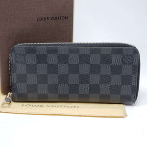 Louis Vuitton Graphite Zippy Vertical Wallet - Luxury Cheaper