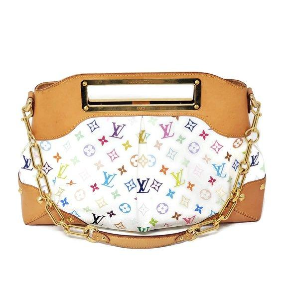 Louis Vuitton Judy GM Multicolor Shoulder Bag.