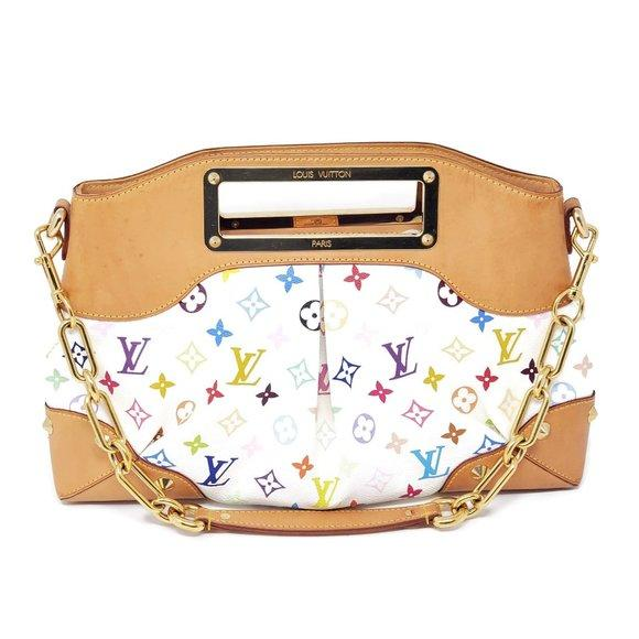 Louis Vuitton Judy MM Multicolor ShoulderBag.