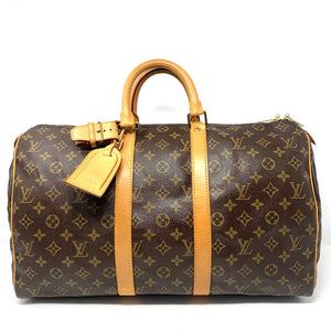 Louis Vuitton Keepal 45 Monogram Travel Bag.