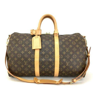 Louis Vuitton Keepall Bandouliere 45 Monogram Bag.