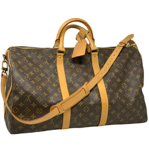 Louis Vuitton Keepall Bandouliere 50 Monogram Bag.
