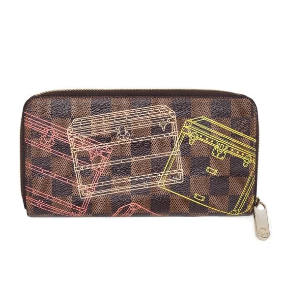 Louis Vuitton Limited Edition Zip Wallet.