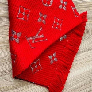 Louis Vuitton Logomania Shine Scarf NEW - Luxury Cheaper