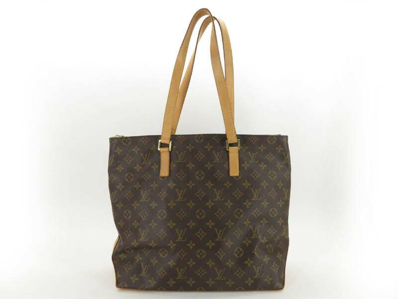 LOUIS VUITTON  MONGRAM CABAS MEZZO TOTE BAG.
