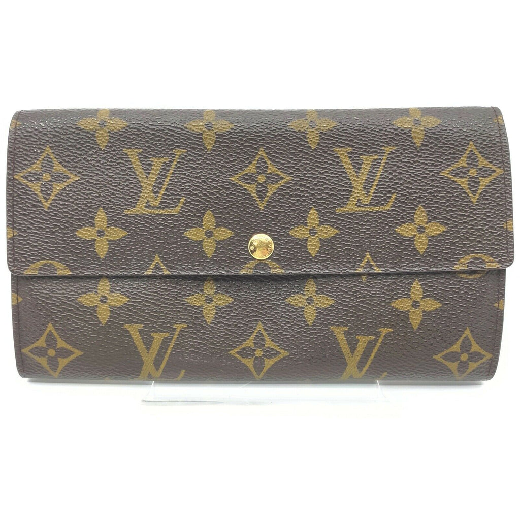 Louis Vuitton Monnaie Sarah Monogram Bifold Wallet.